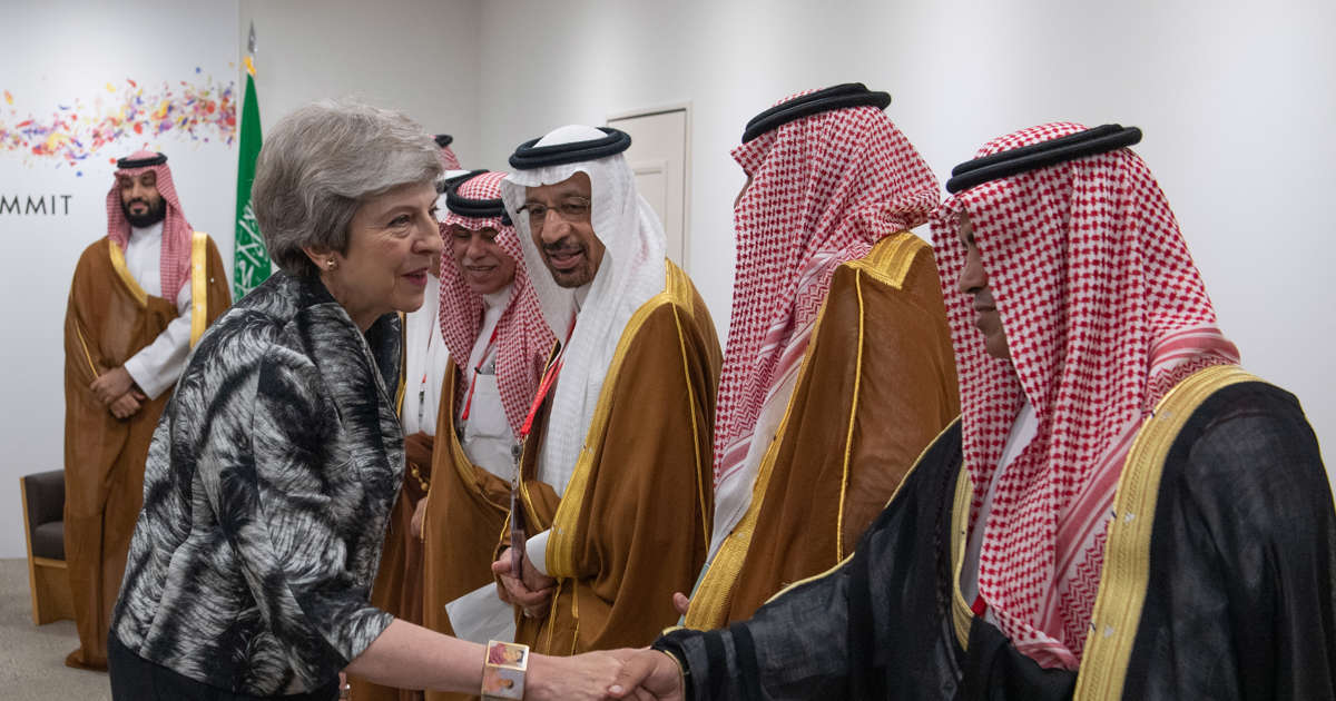 G20: May asks Saudi prince for transparency in Khashoggi case