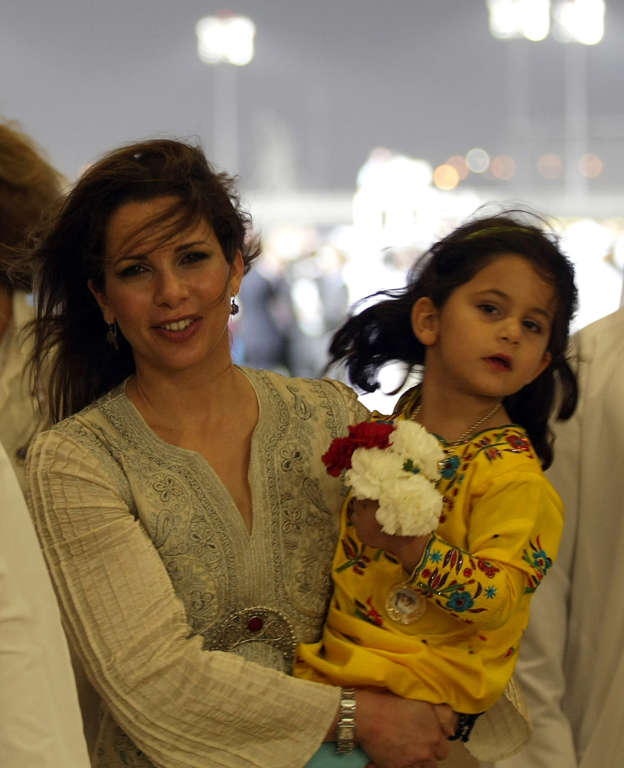 Dubai's Princess Haya flees UAE with money, kids: Reports