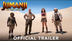 Everything you know about Jumanji is about to change. Watch the trailer for #JUMANJI: The Next Level now - only in theaters this Christmas!  Visit Site:  http://www.jumanjimovie.com/?hs308=youtubeorg  Follow Us On Social: https://www.facebook.com/JumanjiMovie https://www.twitter.com/JumanjiMovie https://www.instagram.com/JumanjiMovie  Subscribe to Sony Pictures for exclusive content: http://bit.ly/SonyPicsSubscribe  In Jumanji: The Next Level, the gang is back but the game has changed. As they return to Jumanji to rescue one of their own, they discover that nothing is as they expect. The players will have to brave parts unknown and unexplored, from the arid deserts to the snowy mountains, in order to escape the world's most dangerous game.  #JumanjiTheNextLevel #OfficialTrailer #Trailer #TheRock #DwayneJohnson #KevinHart #JackBlack #KarenGillan #DannyDeVito #DannyGlover #NickJonas #Awkwafina #TheNextLevel