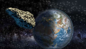 Nasa says asteroid impacts may be less frequent than previously thought