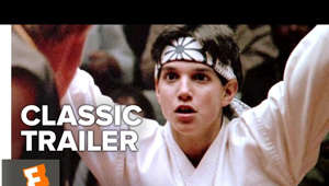 a close up of Ralph Macchio: Check out the official The Karate Kid (1984) Trailer starring Ralph Macchio! Let us know what you think in the comments below. ► Watch on FandangoNOW: https://www.fandangonow.com/details/movie/the-karate-kid-1984/1MV131e4ca183452260de439427c71ec3cf?ele=searchresult&elc=the%20karate%20kid&eli=0&eci=movies&cmp=MCYT_YouTube_Desc   Subscribe to the channel and click the bell icon to stay up to date on all your favorite movies.   Starring: Ralph Macchio, Pat Morita, Elisabeth Shue Directed By: John G. Avildsen Synopsis: A martial arts master agrees to teach karate to a bullied teenager.  Watch More Classic Trailers:  ► Horror Films: http://bit.ly/2D21x45 ► Comedies: http://bit.ly/2qTCzPN ► Dramas: http://bit.ly/2tefVm2 ► Sci-Fi Movies: http://bit.ly/2msyb5C ► Animated Movies: http://bit.ly/2HqZZ2c ► Documentaries: http://bit.ly/2Fs2zFd ► Musicals: http://bit.ly/2oDFckX ► Romantic Comedies: http://bit.ly/2qQVieQ ► Superhero Films: http://bit.ly/2FtNZgi ► Westerns: http://bit.ly/2mrOEXG ► War Movies: http://bit.ly/2qX4u18 ► Trailers By Year: http://bit.ly/2qTCxHF  Fuel Your Movie Obsession:  ► Subscribe to CLASSIC TRAILERS: http://bit.ly/2D01HJi ► Watch Movieclips ORIGINALS: http://bit.ly/2D3sipV ► Like us on FACEBOOK: http://bit.ly/2DikvkY  ► Follow us on TWITTER: http://bit.ly/2mgkaHb ► Follow us on INSTAGRAM: http://bit.ly/2mg0VNU  Subscribe to the Fandango MOVIECLIPS CLASSIC TRAILERS channel to rediscover all your favorite movie trailers and find a classic you may have missed.