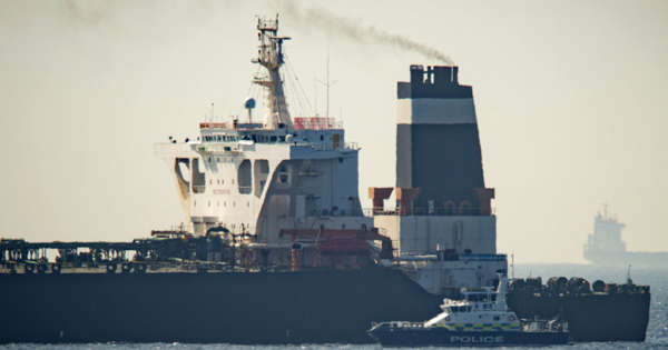 UK-flagged tanker stopped in Gulf reported 'safe and well'