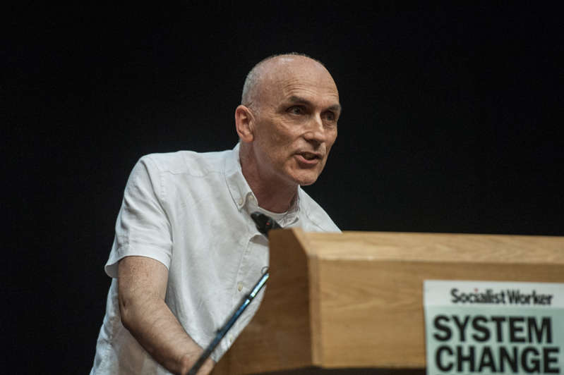 LONDON, ENGLAND - JULY 5: Suspended Labour MP Chris Williamson makes a speech about democratising the Labour Party and the economy at the Marxism Festival on July 5, 2019 in London, England. The Marxism Festival is a five day event with many meetings and rallies organised annually by the Socialist Workers Party. (Photo by Guy Smallman/Getty Images)