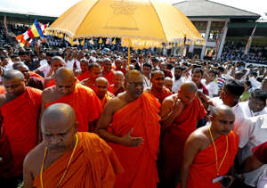 Hardline Sri Lanka monk calls for Buddhist Sinhalese govt