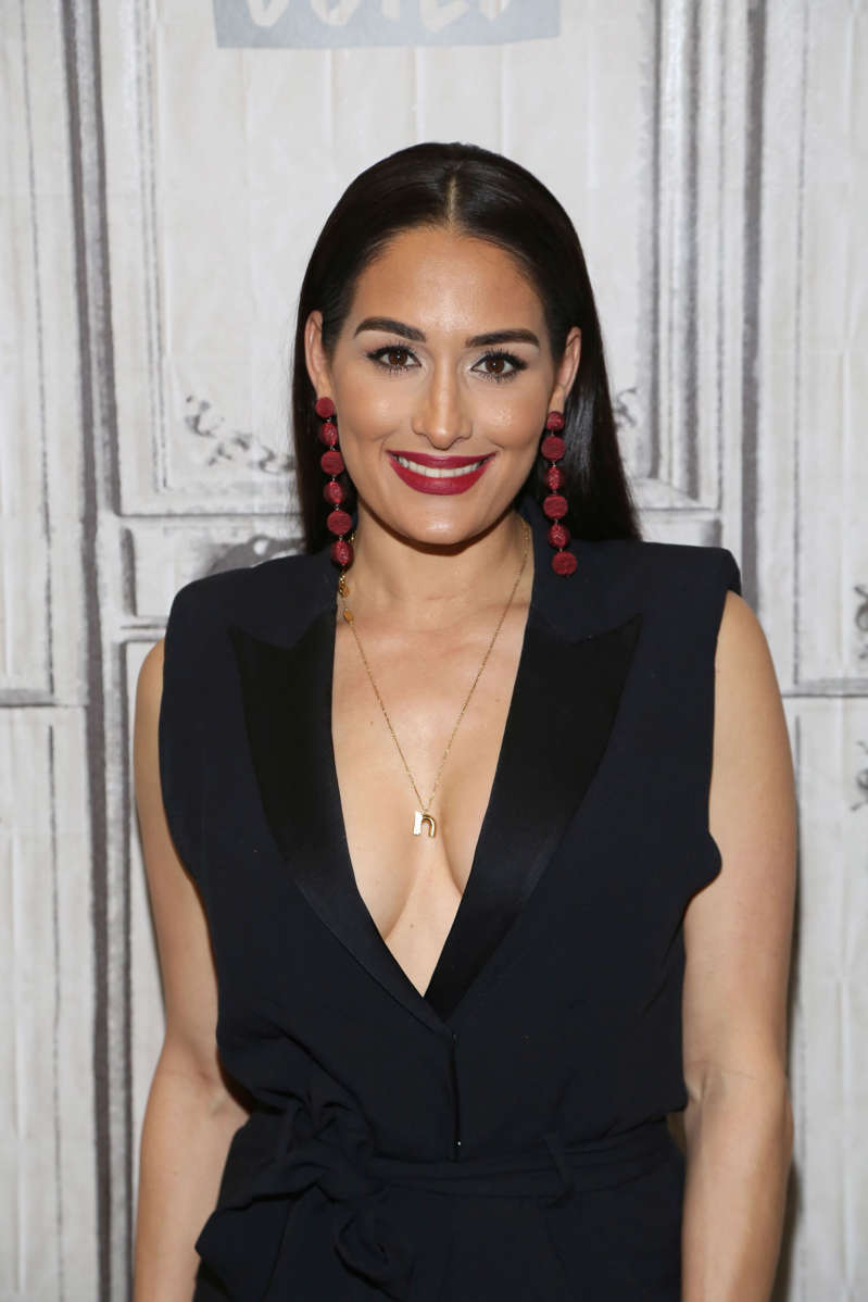 Nikki Bella attends Build Series to discuss the new season of 'Total Bellas' at Build Studio on January 24, 2019 in New York City. (Photo by Manny Carabel/Getty Images)