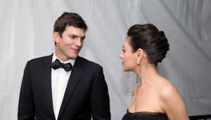 Ashton Kutcher und Mila Kunis (Foto: Kelly Sullivan/Getty Images)