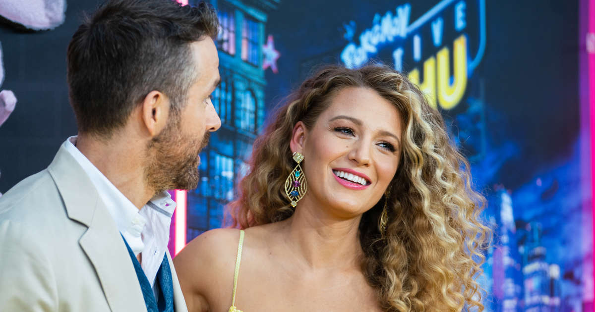 Pregnant Blake Lively Reveals Growing Baby Bump As She Hugs