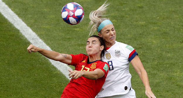 Spain vs  USA - Monday, June 24, 2019 - Women's World Cup
