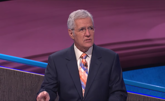 Alex Trebek, Quintessential Quizmaster as 'Jeopardy!' Host For Three Decades, Dies at 80 AADpmCx