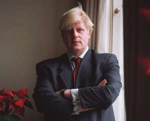 (Original Caption) The Telegraph journalist and editor of the New Statesman, Boris Johnson. (Photo by Neville Elder/Corbis via Getty Images)