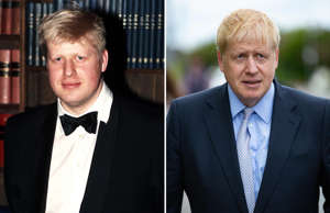 THE 175TH ANNIVERSARY OF THE OXFORD UNION, OXFORD, BRITAIN - 1998;  Boris Johnson visits Peterborough, UK - 31 May 2019