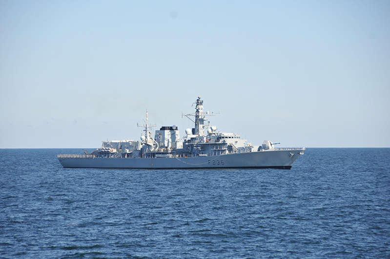 Royal Navy vessel HMS Montrose