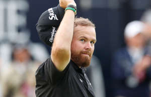 Golf - The 148th Open Championship - Royal Portrush Golf Club, Portrush, Northern Ireland - July 20, 2019  Republic of Ireland's Shane Lowry on the 18th hole during the third round  REUTERS/Paul Childs
