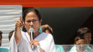 Mamata lashes out at BJP for tax notice to Durga Puja organisers
