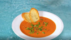 How to make roasted tomato soup at home
