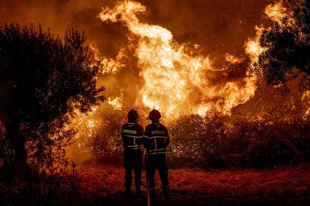 In photos: Wildfires across the globe