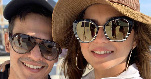 Drashti Dhami shares kisses and selfies with husband during Spain