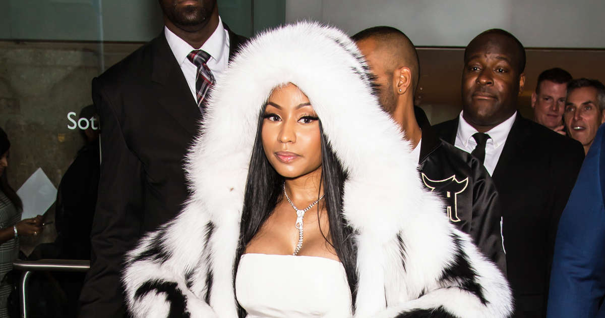 Nicki Minaj raps about being engaged and pregnant in new