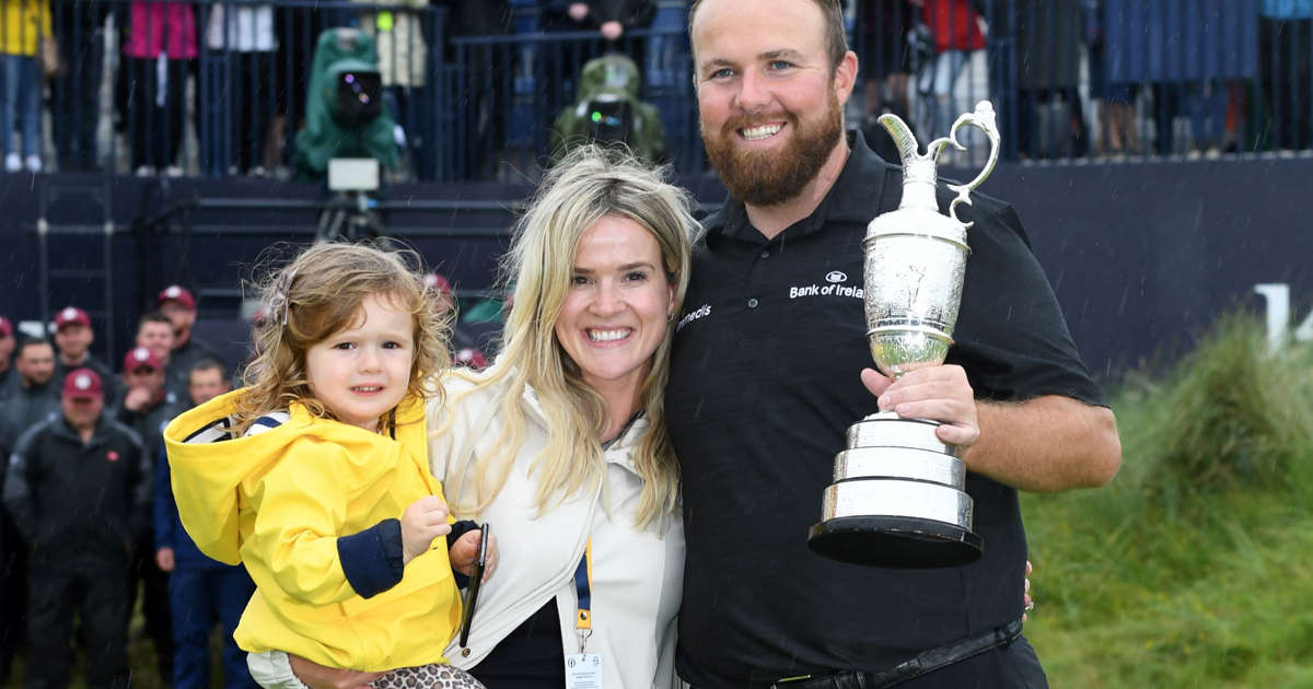 Down to earth: How Wendy helped Shane become a Major winner