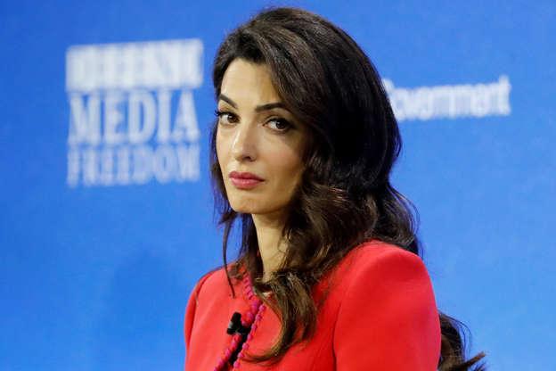 Amal Clooney Criticizes Donald Trump: Our Leader 'Vilifies