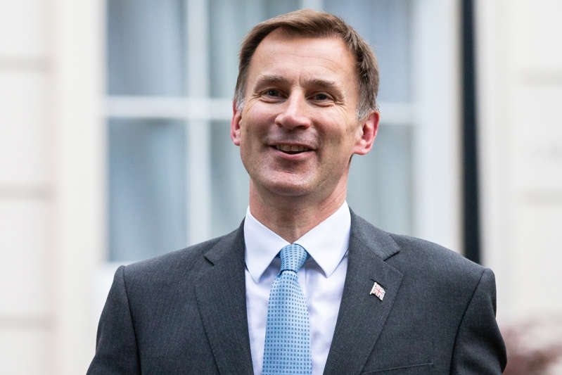 LONDON, ENGLAND - JUNE 20: Jeremy Hunt is interviewed inside the grounds of the Foreign Secretary's Grace and Favour residence in Westminster on June 20, 2019 in London, England. Jeremy Hunt came second to Boris Johnson in the final leadership ballot decided by MPs this afternoon. The pair will now travel around the country in the coming weeks attending a series of hustings appealing to the Conservative party membership for their votes to become the new leader of the party and Prime Minister. (Photo by Luke Dray/Getty Images)