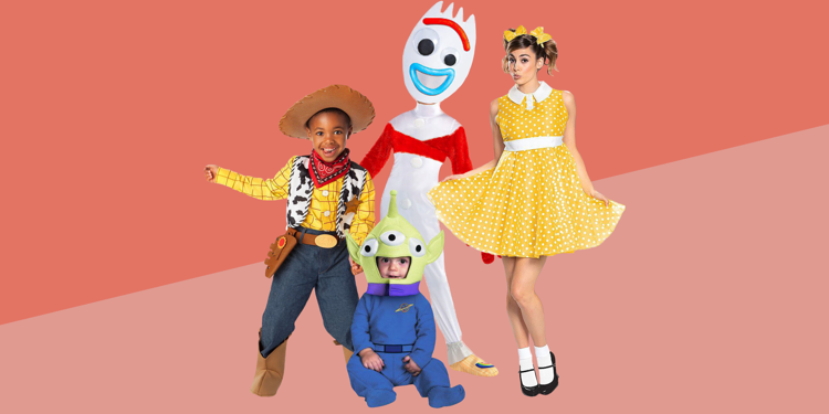 Toy Story 4 Halloween Costumes.Your Toy Story Group Halloween Costume Is Not Complete Without Forky