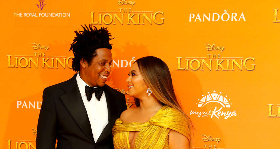 53e2f6be84ccad Jay Z and Beyonce attend the European Premiere of