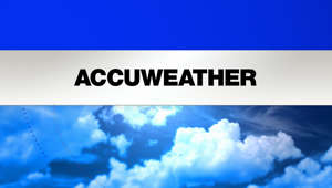 a close up of a logo: AccuWeather Planner