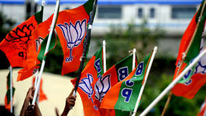 BJP MLA shouts slogan inside SDM's office