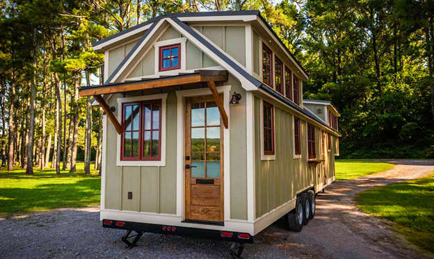 Slide 1 of 19: As more people struggle to afford traditional homes, some are opting to live in tiny homes instead. The average tiny house costs $10,000 to $30,000 if you build it yourself, and $20,000 to $60,000 if you hire someone to build it for you, according to The Tiny Life. But some tiny homes can cost upwards of six figures. Are they worth it? Click through to see for yourself what these pricey tiny houses for sale look like.