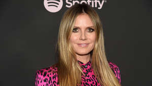 Heidi Klum attends the Spotify Best New Artist 2019 Party at The Hammer Museum on Thursday, Feb. 7, 2019, in Los Angeles. (Photo by Phil McCarten/Invision/AP)