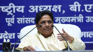 Mayawati attacks BJP after brother's property attached
