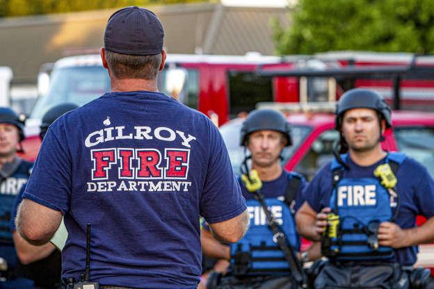 Teen identified as gunman at California food festival, police hunt