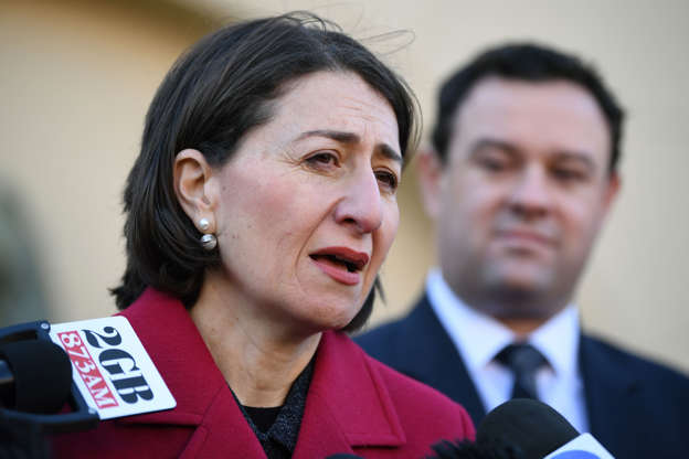 NSW premier stands by stadium timeline