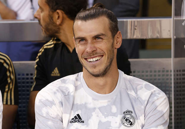 the latest 9c5e6 eb6cb Gareth Bale shows off new Real Madrid kit on Instagram ...
