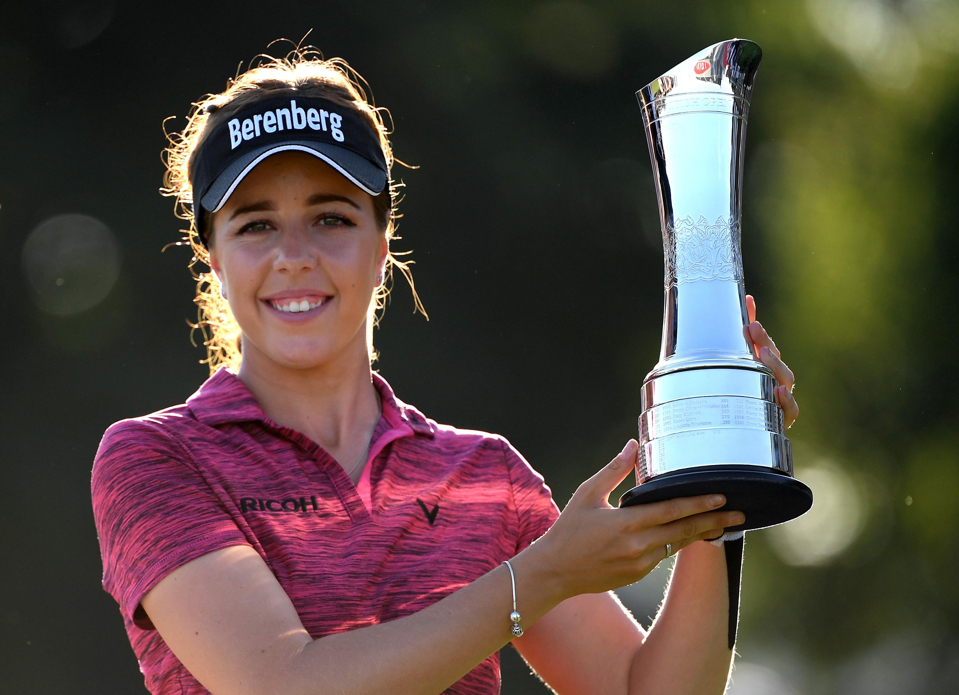 defending champion georgia hall reveals how her women u0026 39 s