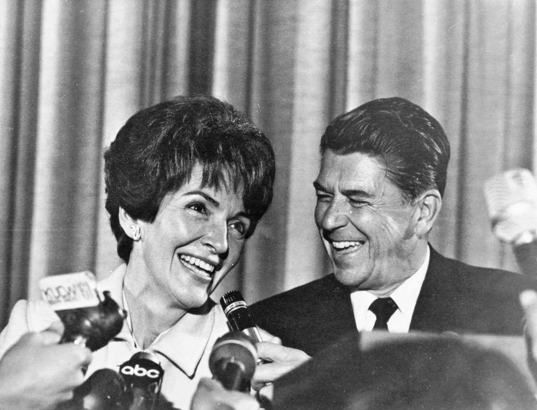 Ronald Reagan and Nancy Reegan