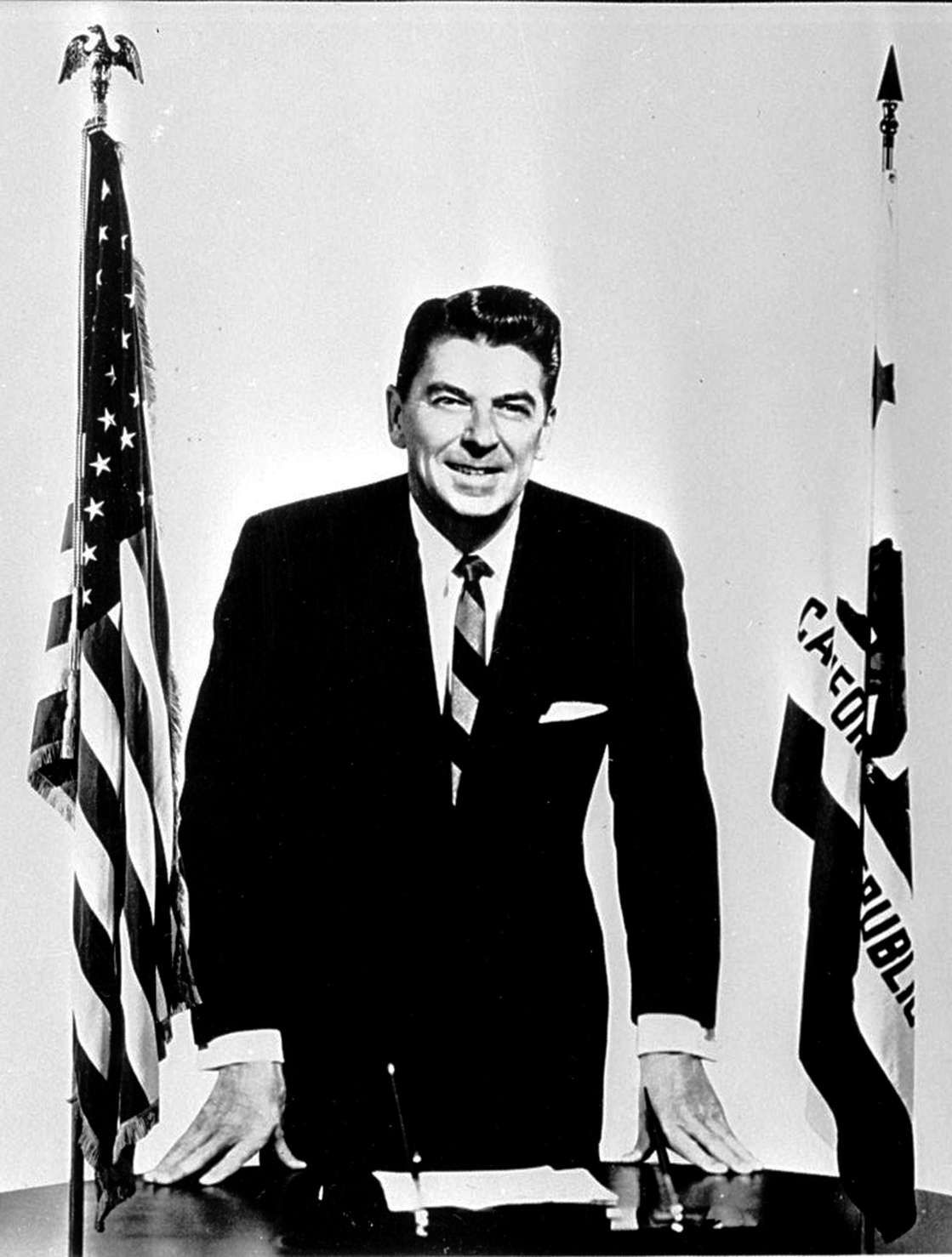 Ronald Reagan, Governor of California. *05/06/04: (Photo by PA Images via Getty Images)