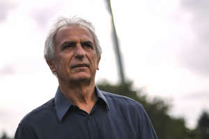 File Photo-Nantes' Bosnian head coach Vahid Halilhodzic during the friendly football match