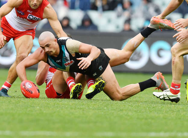 Port sink Swans to rise into AFL top eight