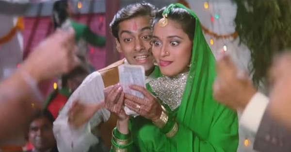 Salman Khan, Madhuri Dixit recreate Pehla Pehla Pyaar as Hum Aapke