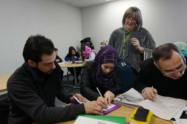 Refugees in 2015, Syrians now citizens in time for 2019 federal election