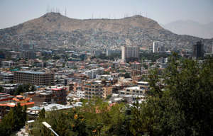 A general view of the capital city of Kabul on August 3, 2019, as new talks between the US and the Taliban go on. - Washington is hoping for a breakthrough as talks between the US and the Taliban resumed in Doha on August 3 in a bid to end 18 years of war in Afghanistan. (Photo by WAKIL KOHSAR / AFP)        (Photo credit should read WAKIL KOHSAR/AFP/Getty Images)