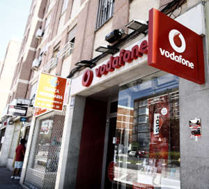 MADRID, SPAIN - JULY 26:  Image of Vodafone store on July 26, 2019 in Madrid, Spain. (Photo by Eduardo Parra/Europa Press via Getty Images) (Photo by Europa Press News/Europa Press via Getty Images )