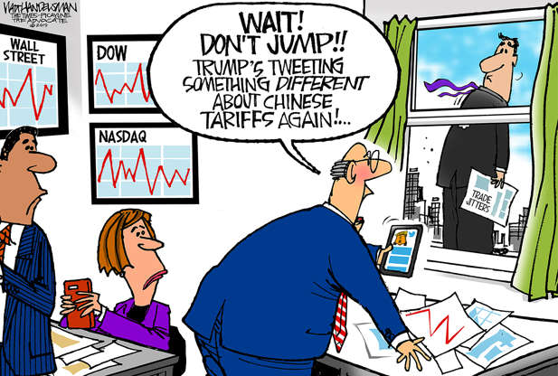Slide 5 of 50: Walt Handelsman/The Times-Picayune The Advocate