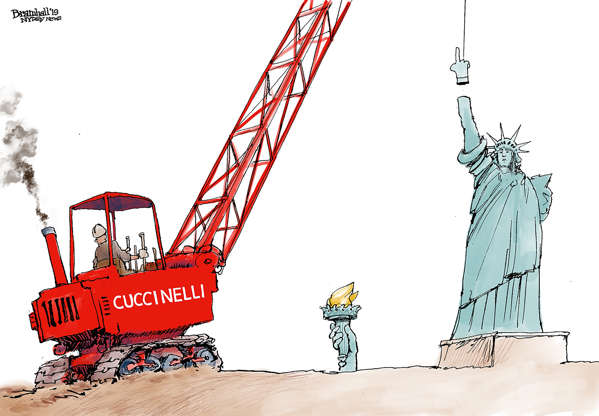 Slide 4 of 50: Bill Bramhall/New York Daily News