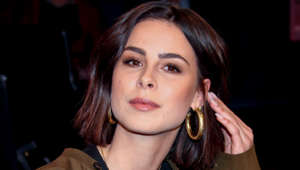 HAMBURG, GERMANY - APRIL 12: Lena Meyer-Landrut during the NDR Talk Show on April 12, 2019 in Hamburg, Germany. (Photo by Tristar Media/Getty Images)