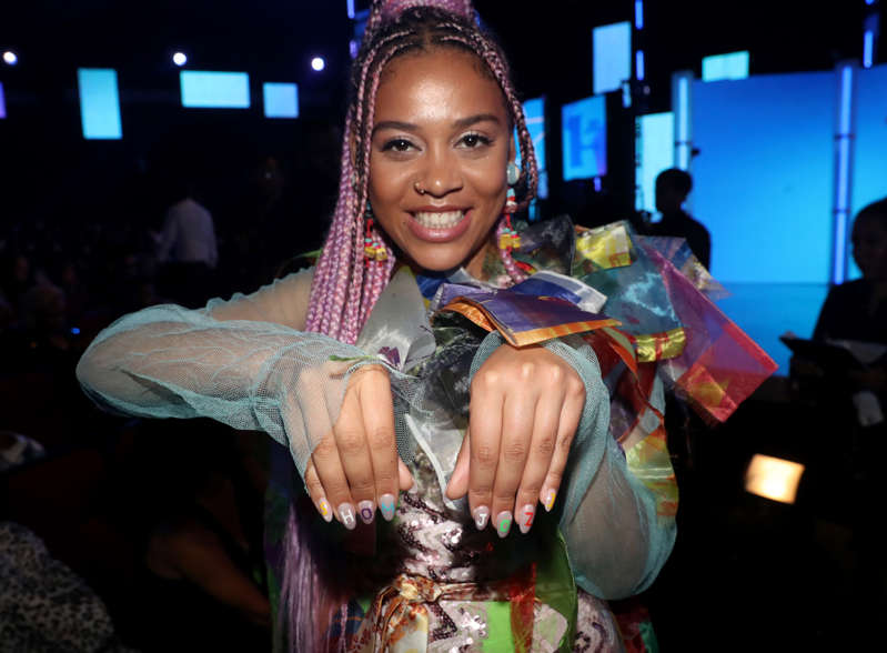 FILE: Sho Madjozi attends the 2019 BET Awards at Microsoft Theater on June 23, 2019 in Los Angeles, California.