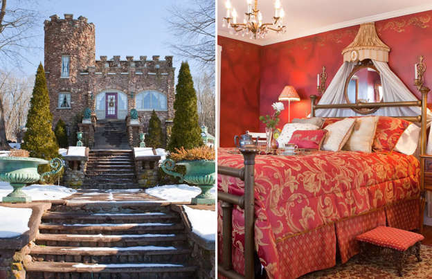 Fairytale-like castles you can rent on Airbnb