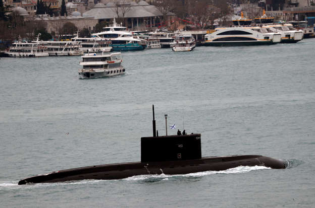 Russian 'super quiet' submarines feared to be in British waters